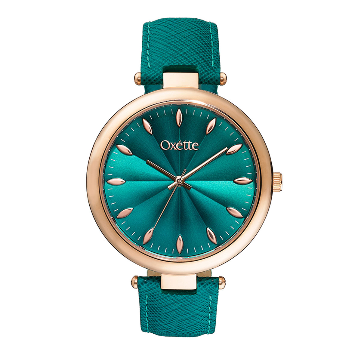Oxette watch (11X65-00174) with Rose Gold stainless steel ...