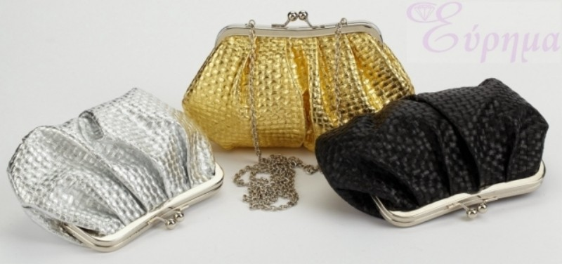 8f3312ee10 Γυναικείο αμπιγιέ τσαντάκι Makgio Accessories από αναγεννημένο δέρμα ...