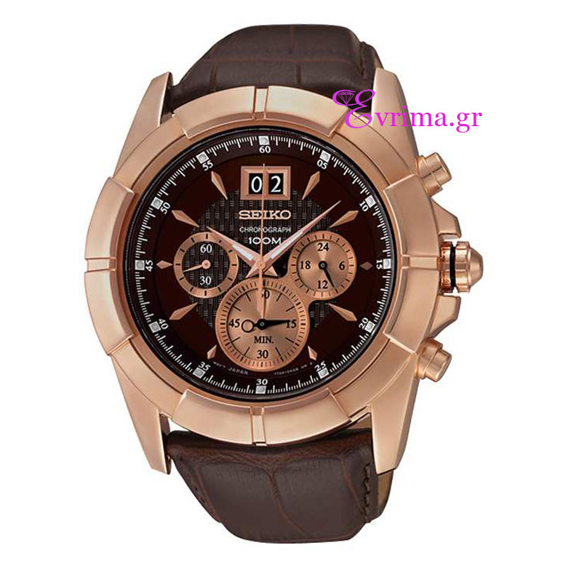 Ανδρικό ρολόι Seiko από ανοξείδωτο ατσάλι (Stainless Steel).  Seiko ... 403774429e7