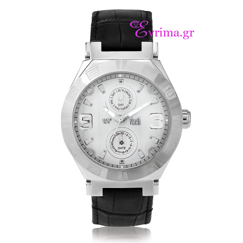 Visetti Stainless Steel Men Watch.  LZ-622SI  bf5a8824538
