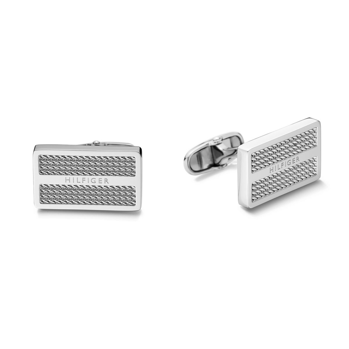 8df7364e Tommy Hilfiger stainless steel cufflinks 2700825. Tap to expand