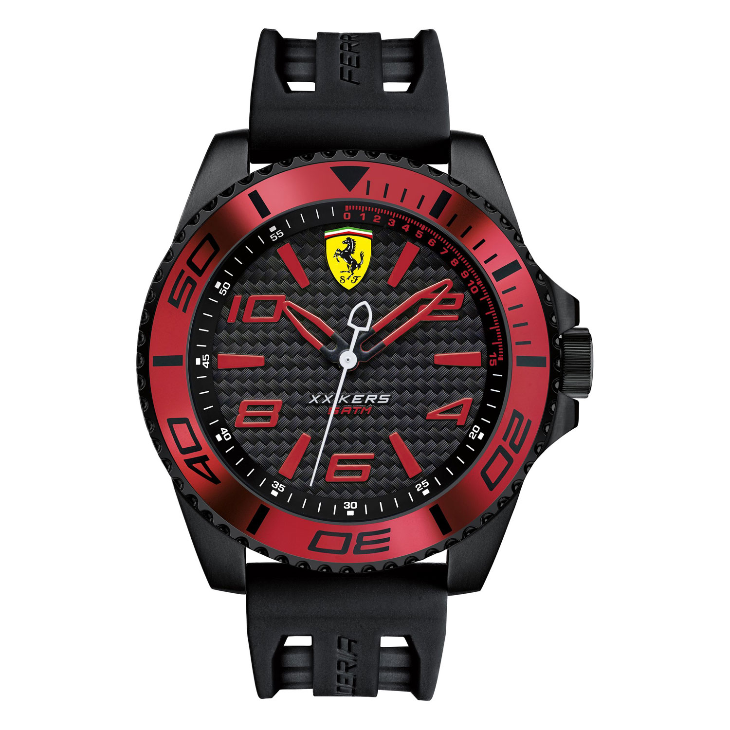steel watch of ferrari watches rules seven quartz for s stainless italia formula men easy