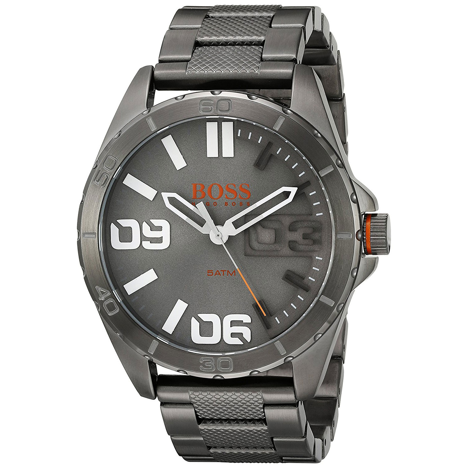 Good Watch Brands For Men >> Hugo Boss Orange Watch with grey stainless steel 1513289