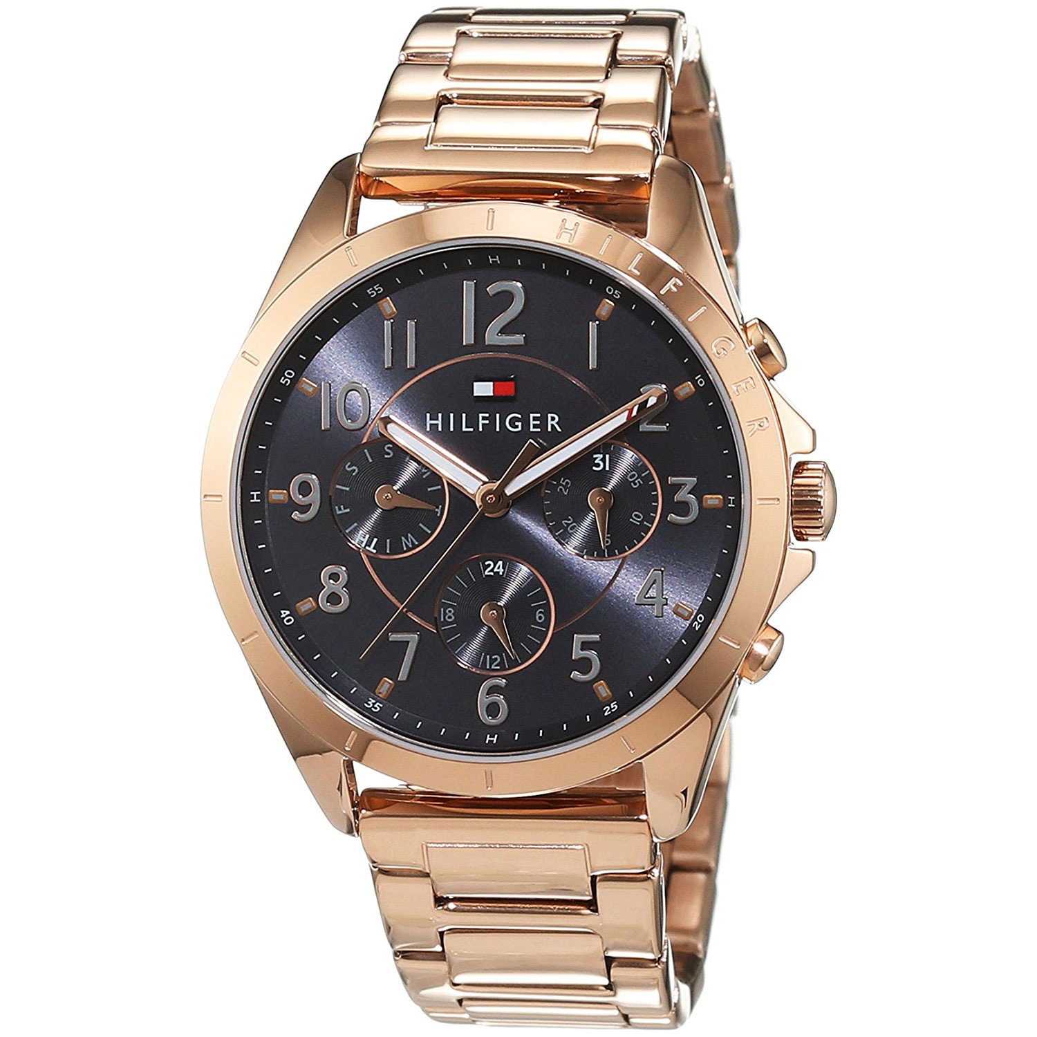 f30fdc86 Tommy Hilfiger Watch with rose gold stainless steel 1781606. Tap to expand