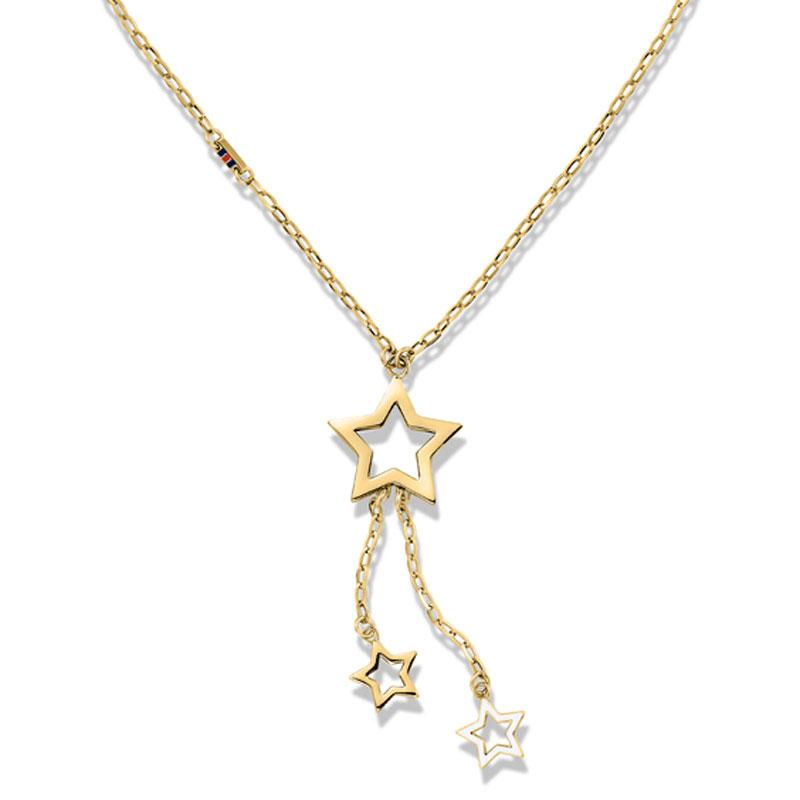 Tommy Hilfiger γυναικείο κολιέ από χρυσό ανοξείδωτο ατσάλι σε σχέδιο αστέρι  2700848 100600fcafb