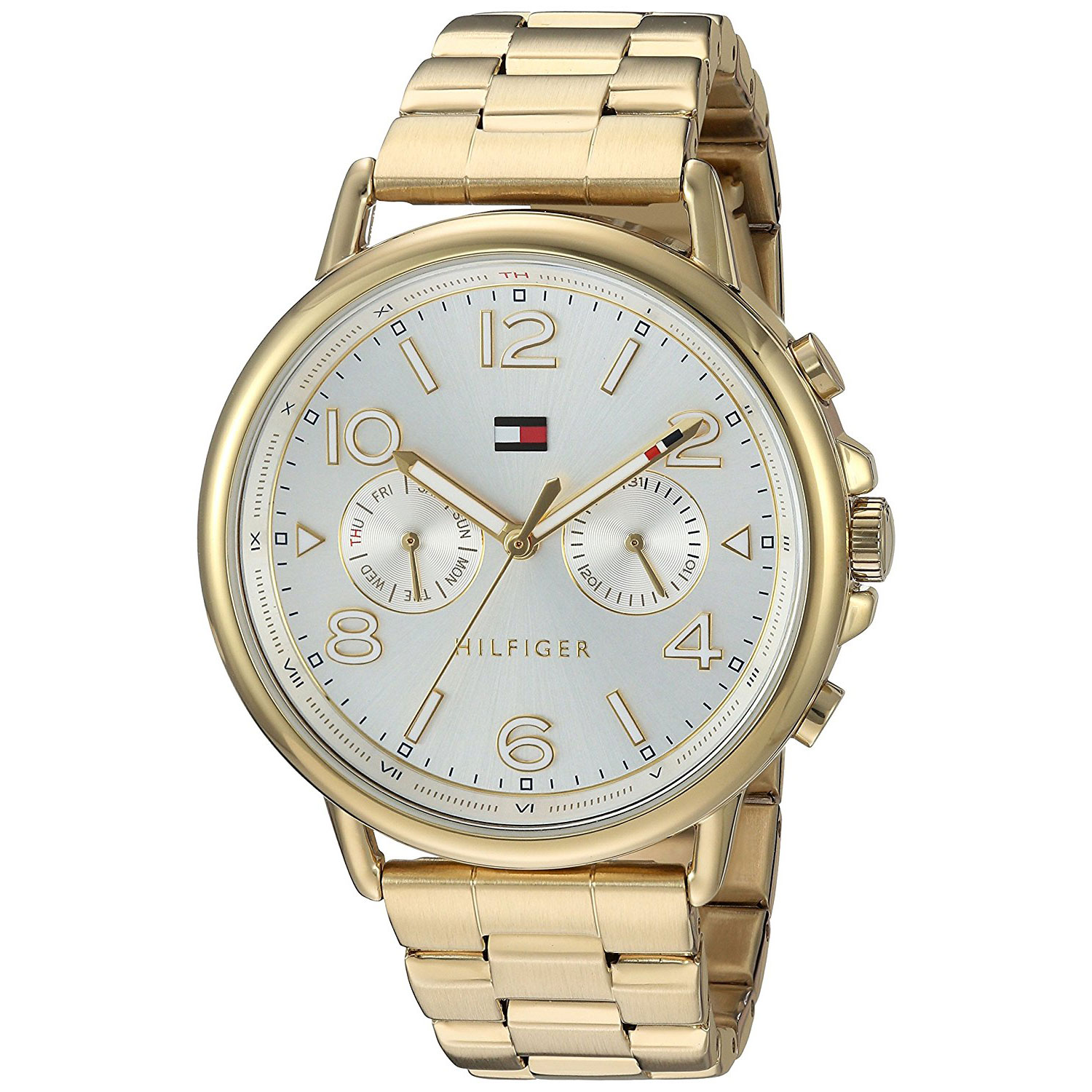 c43924b8 Tommy Hilfiger watch with gold stainless steel 1781732. Tap to expand