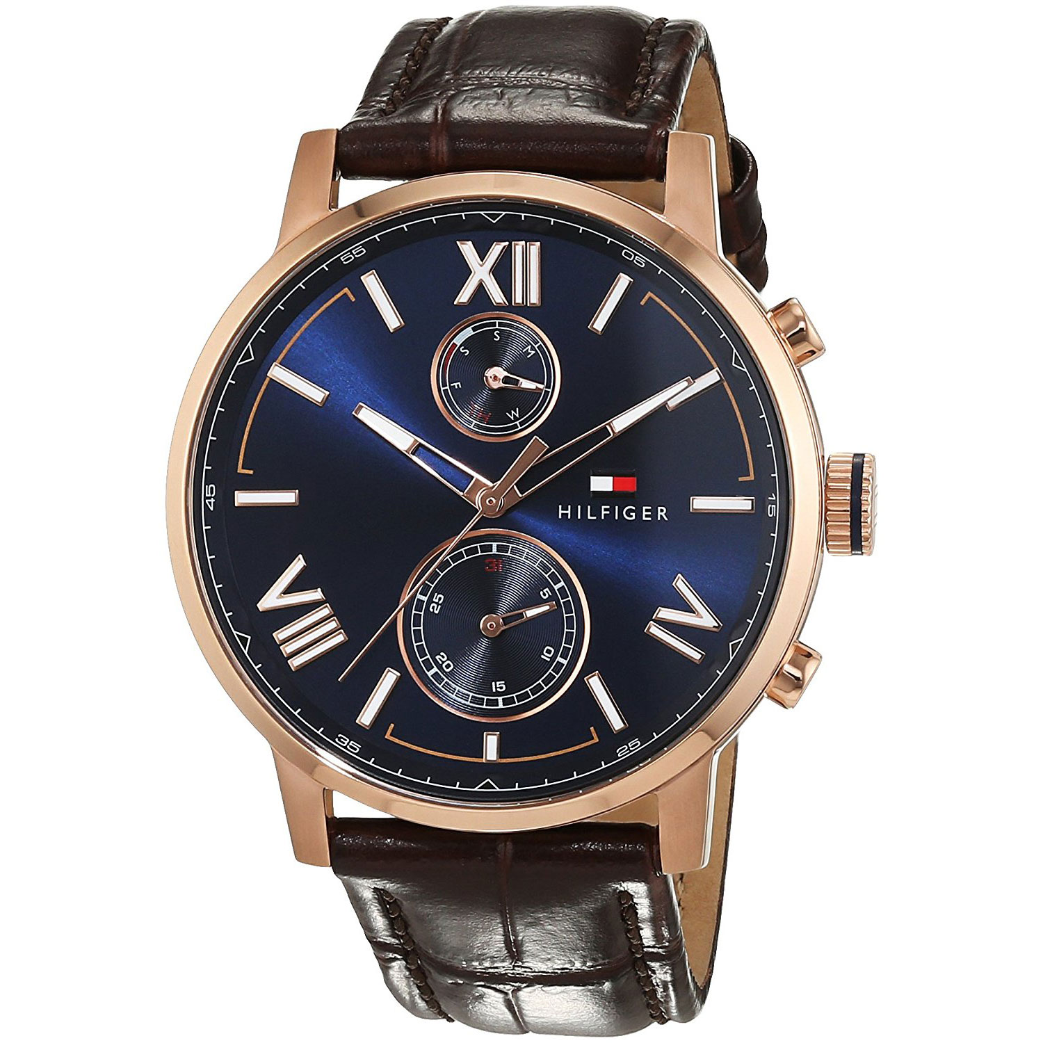 Good Watch Brands For Men >> Tommy Hilfiger watch with rose gold stainless steel and ...