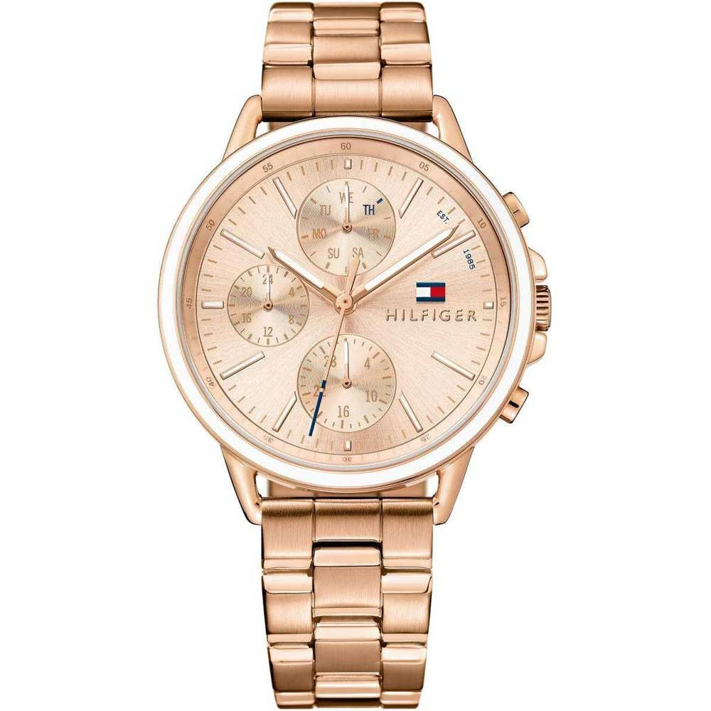 9a3a0842 Tommy Hilfiger watch with rose gold stainless steel 1781788. Tap to expand