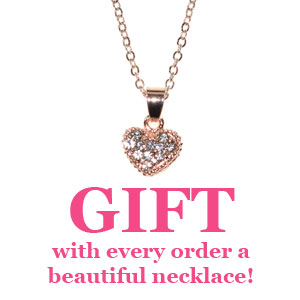 GIFT with every order a beautiful necklace!