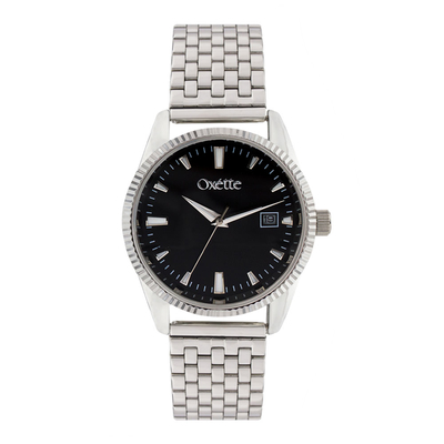 Oxette 11X03-00516 Stainless Steel Watch with silver case and bracelet
