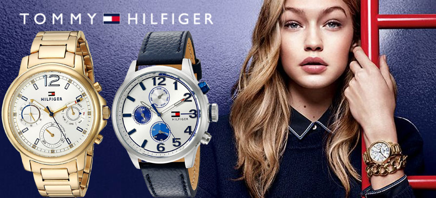 Tommy Hilfiger watches have been developed with meticulous attention to quality, function and detail.