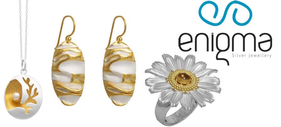 Enigma Χειροποίητα Ασημένια Κοσμήματα Collection 2017