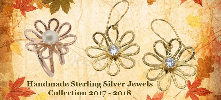 Handmade Silver Jewels Collection 2017 - 2018