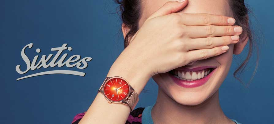 Sixties Watches. Sixties is a small and fine Watch collection based on the style of the sixties.
