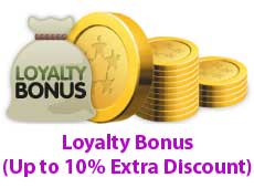 Loyalty Bonus (Up to 10% Extra Discount)