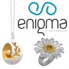 Handmade sterling silver jewels Enigma, excellent quality and special creation techniques.