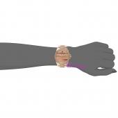 Juicy Couture Ρολόι από ροζ χρυσό ανοξείδωτο ατσάλι με μπρασελέ 1901290 στο χέρι