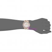 Juicy Couture Ρολόι από ροζ χρυσό ανοξείδωτο ατσάλι με μπρασελέ 1901383 στο χέρι