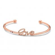 Tommy Hilfiger γυναικείο βραχιόλι Love από ροζ χρυσό ανοξείδωτο ατσάλι 2700968