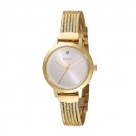 Oxette ρολόι 11X05-00683 από ανοξείδωτο ατσάλι με χρυσή επιμετάλλωση στην κάσα και μπρασελέ