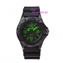 Oxette | Unisex ρολόι Oxette από ανοξείδωτο ατσάλι (Stainless Steel). [11X07-00153-GREEN]