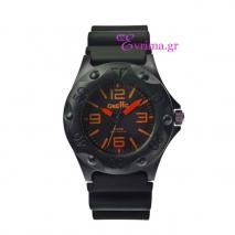 Oxette | Unisex ρολόι Oxette από ανοξείδωτο ατσάλι (Stainless Steel). [11X07-00153-ORANGE]