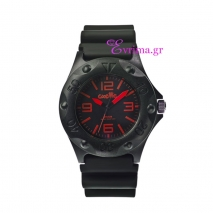 Oxette | Unisex ρολόι Oxette από ανοξείδωτο ατσάλι (Stainless Steel). [11X07-00153-RED]