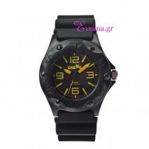 Oxette | Unisex ρολόι Oxette από ανοξείδωτο ατσάλι (Stainless Steel). [11X07-00153-YELLOW]