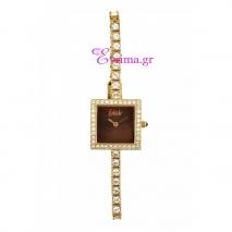 Loisir | Ρολόι Loisir από ανοξείδωτο ατσάλι (Stainless Steel). [11L12-00028-BLACK]