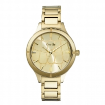 Oxette ρολόι με Gold ατσάλινο μπρασελέ.  [11X05-00450]