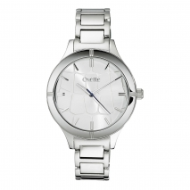 Oxette ρολόι από ανοξείδωτο ατσάλι (Stainless Steel). [11X03-00458]