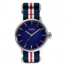 Oxette ρολόι με ατσάλινη κάσα και λουράκι. [11X06-00473]