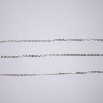 Χειροποίητη αλυσίδα από επιπλατινωμένο ασήμι 925ο. [IJ-Chain-01]