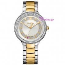 Juicy Couture ρολόι από δίχρωμο ανοξείδωτο ατσάλι με μπρασελέ 1901402