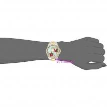 Juicy Couture Ρολόι από δίχρωμο ανοξείδωτο ατσάλι με μπρασελέ 1901425 στο χέρι