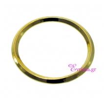 Χειροποίητο δαχτυλίδι (Βεράκι) από επιχρυσωμένο ασήμι 925ο. [IJ-010373-G]