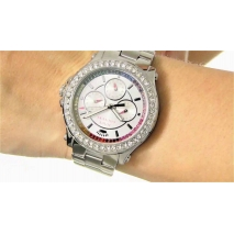 Juicy Couture ρολόι από ανοξείδωτο ατσάλι με μπρασελέ 1901275 εικόνα 3