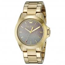 Juicy Couture ρολόι από χρυσό ανοξείδωτο ατσάλι με μπρασελέ 1901285
