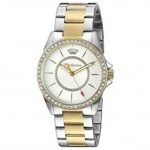 Juicy Couture ρολόι από δίχρωμο ανοξείδωτο ατσάλι με μπρασελέ 1901411