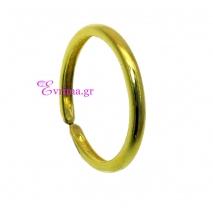 Χειροποίητο δαχτυλίδι (Βεράκι) από επιχρυσωμένο ασήμι 925ο. IJ-010395