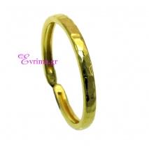 Χειροποίητο δαχτυλίδι (Βεράκι) από επιχρυσωμένο ασήμι 925ο. IJ-010397