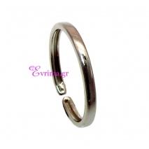 Χειροποίητο δαχτυλίδι (Βεράκι) από επιπλατινωμένο ασήμι 925ο. IJ-010398