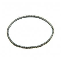 Loisir βραχιόλι 02L15-00444 από ασημί ορείχαλκο με ημιπολύτιμες πέτρες (Κρύσταλλοι Quartz)