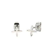 Loisir σκουλαρίκια 03L03-00161 σταυροί από ανοξείδωτο ατσάλι (Stainless Steel)