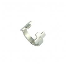 Loisir δαχτυλίδι 04L03-00254 σταυρός από ανοξείδωτο ατσάλι (Stainless Steel) με ημιπολύτιμες πέτρες (Κρύσταλλοι Quartz)