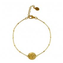 Oxette βραχιόλι 02X05-01614 από επιχρυσωμένο ασήμι 925ο