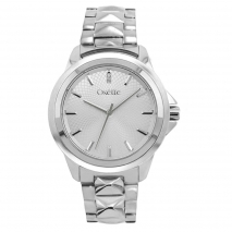 Oxette Stainless Steel Watch 11X03-00480 with silver case and bracelet