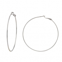 Loisir σκουλαρίκια κρίκοι 03L15-00206 από ασημί ορείχαλκο