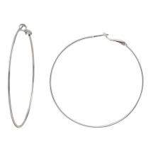 Loisir σκουλαρίκια κρίκοι 03L15-00214 από ασημί ορείχαλκο