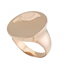 Loisir δαχτυλίδι 04L15-00109 από ροζ ορείχαλκο